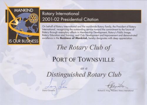 presidential citation 2001-2002-small